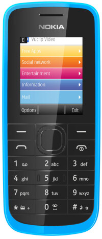 Nokia-109cyan