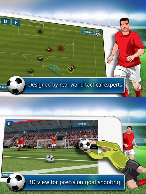 Fluid Football - Android, iOS - Free