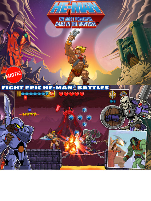 He-Man: The Most Powerful Game in the Universe - iOS - $0.99