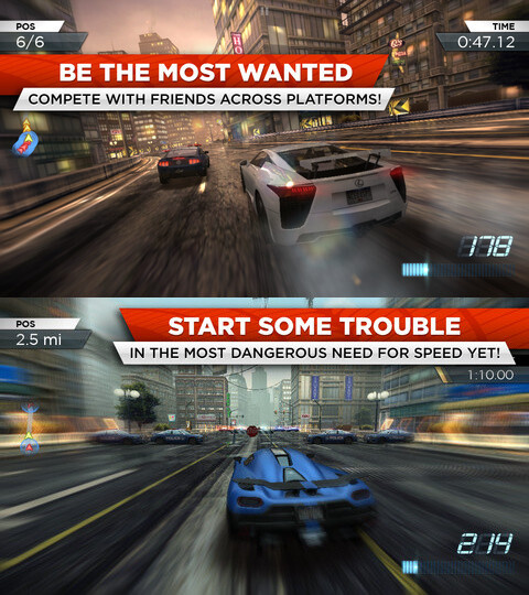 Need For Speed: Most Wanted - Android, iOS - $6.99