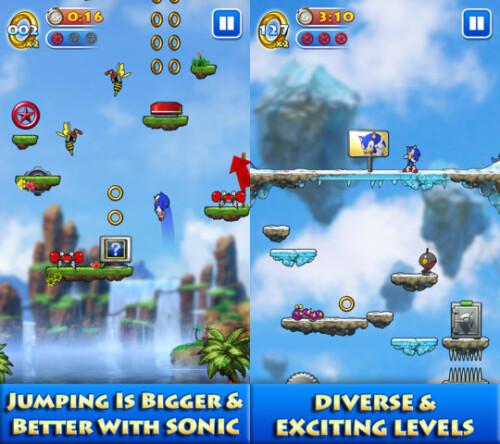 Sonic Jump - iOS - $1.99