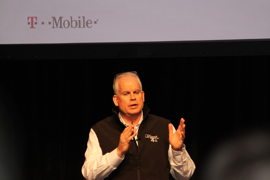 T-Mobile's CTO Neville Ray - T-Mobile 95% done refarming 1900MHz spectrum; carrier delayed by Sandy
