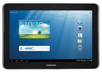 The Samsung Galaxy Tab 2 10.1