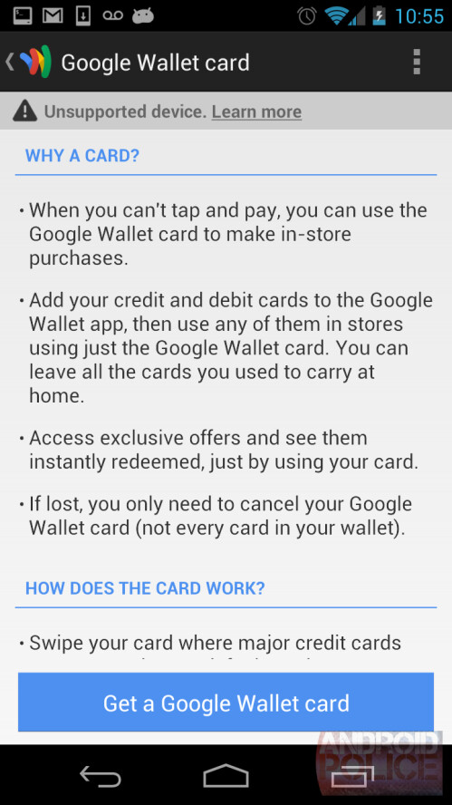 Google Wallet headed to your physical wallet