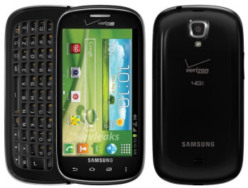 A picture of the Samsung Stratosphere II is leaked