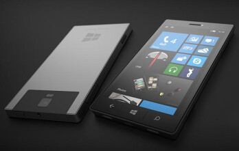 Microsoft Surface phone concept.