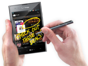 The Intuition™'s QuickMemo™ feature lets you quickly capture a screenshot, jot down a note and share it with friends