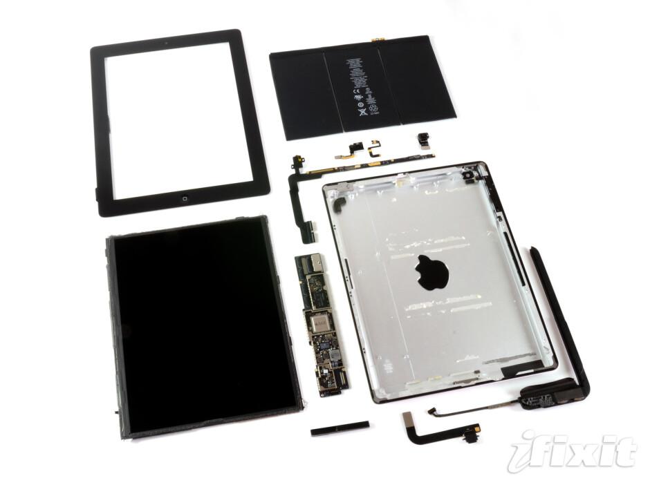 Apple iPad 4 teardown finds guts, but no repair glory