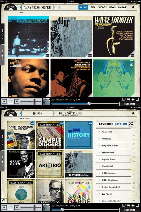 Blue Note by Groovebug - iPad - Free