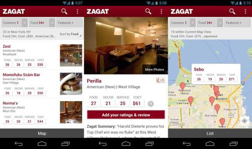 Zagat - Android - Free