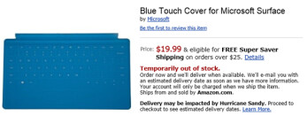 Amazon leaves out a digit with its pricing of the Touch Cover