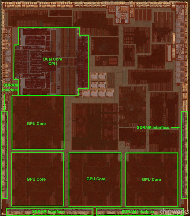 Inside the A6X - Fourth-generation Apple iPad has quad-core PowerVR SGX 554 GPU under the hood
