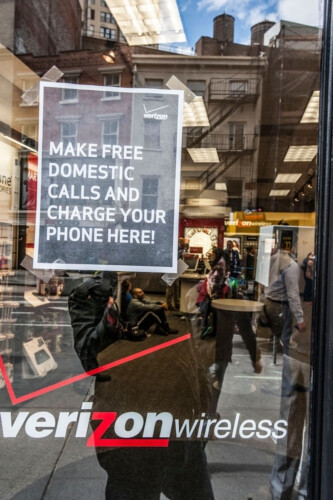 Verizon does its part to help New Yorkers