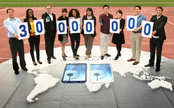 Samsung has sold 30 million units of the Samsung Galaxy S III - Samsung Galaxy S III: 30 million units sold