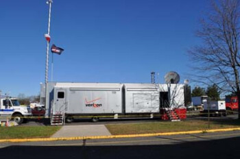 Verizon's mobile communications center