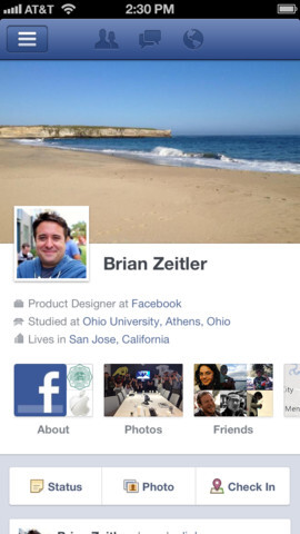 Facebook's iOS app has some new features after an update