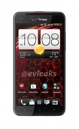 Invitation to Verizon-HTC event on Tuesday, note the similarity in design to the HTC DROID DNA press shot