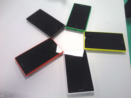 Pictures of the Nokia Lumia 830