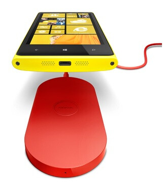 The wireless charging pad for the Nokia Lumia models