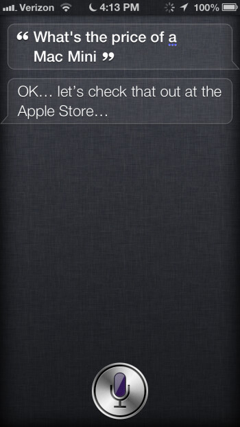 Siri can now help you find prices and shop using the Apple Store app