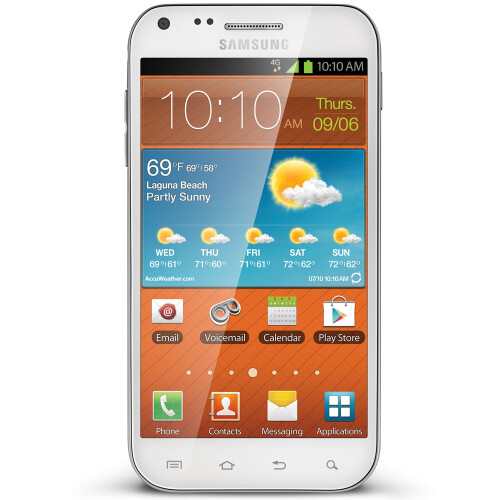 Boost Mobile – Samsung Galaxy S II 4G No-Contract Mobile Phone – White – $299.99