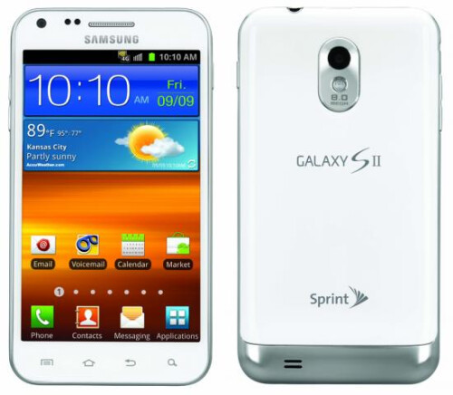 Samsung – Galaxy S II Mobile Phone – White (Sprint) – $1