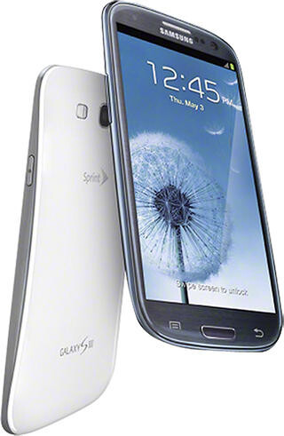 Samsung – Galaxy S III with 16GB Mobile Phone – Marble White (Sprint) – $48.00