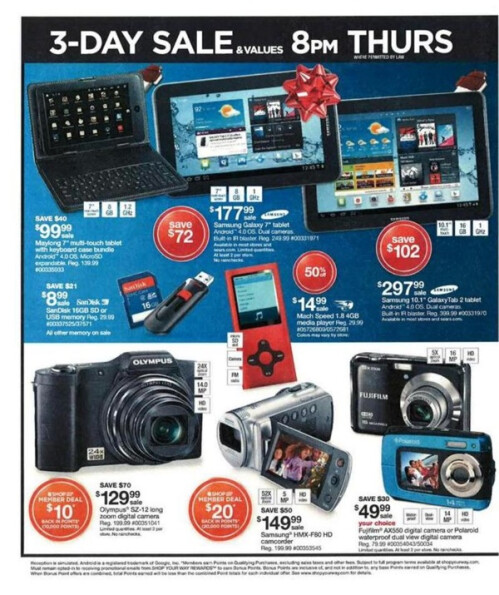Sears Black Friday deals