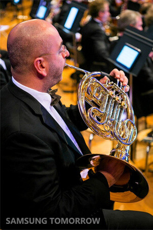 Samsung Galaxy Note 10.1 is the tablet of choice for the Brussels Philharmonic