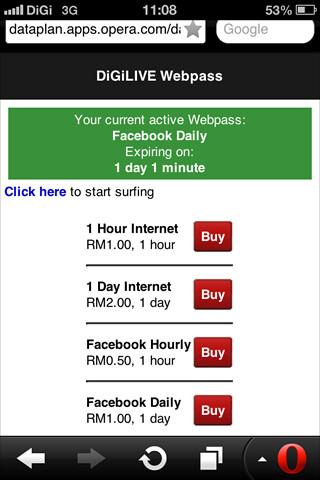Opera Web Pass offers ala carte web access for smartphones