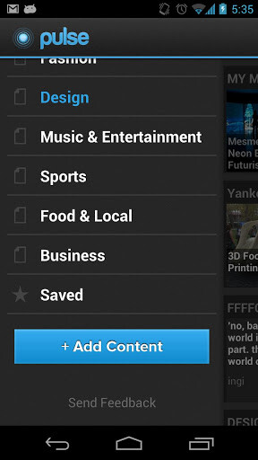 Pulse News app gets a new design for version 3.0