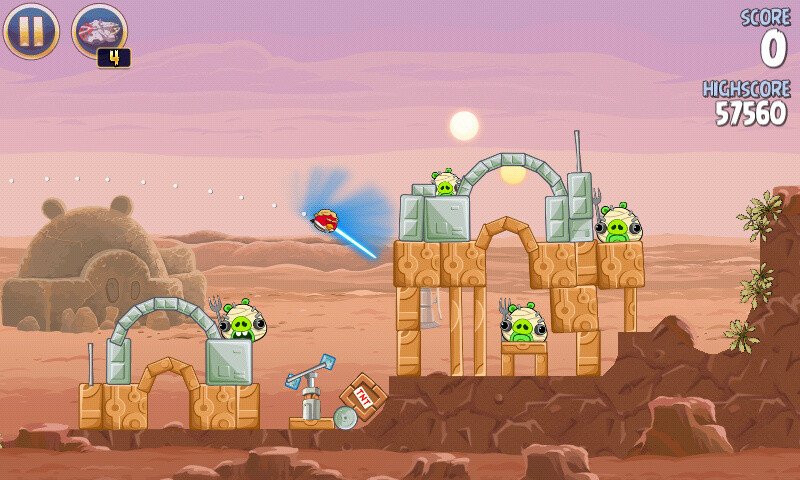 It's always nice to have a lightsaber handy - Angry Birds Star Wars is the best game in the series, and here is why