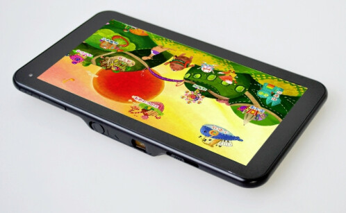 SmartQ U7 7-inch tablet with built-in projector