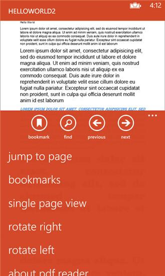 Microsoft PDF Reader