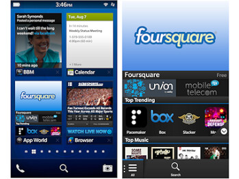 BlackBerry 10 screenshots
