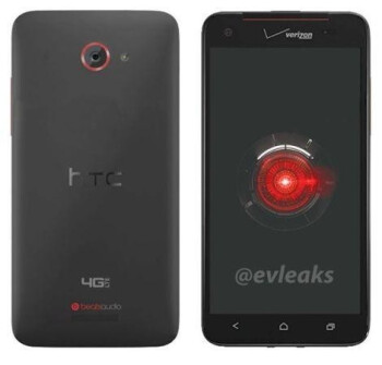 Alleged HTC DROID DNA rendering