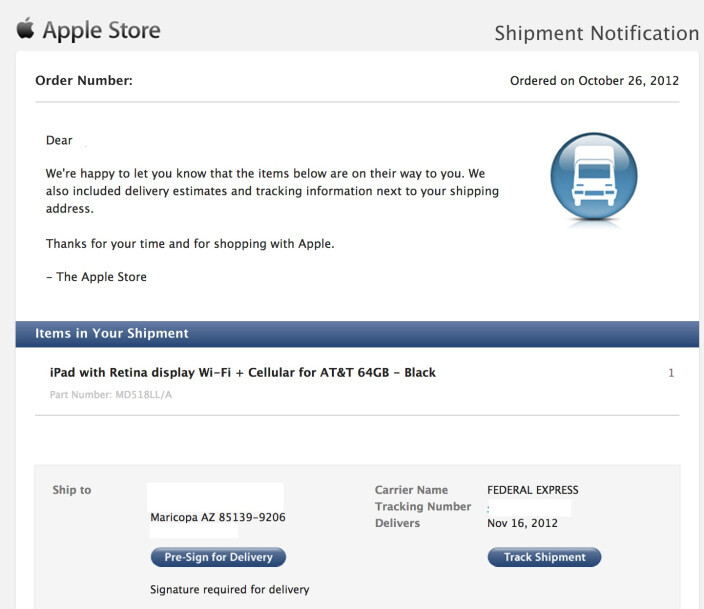 First LTE iPad mini tablets to arrive on November 16th