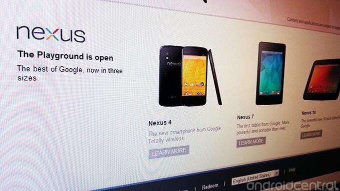 The Google Nexus 4, HSPA+ Google Nexus 7 and Google Nexus 10 will launch Tuesday - Google Nexus 4 and Google Nexus 10 to hit Google Play Store in time for breakfast in Germany