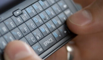 In the third quarter, the number of text messages sent actually declined