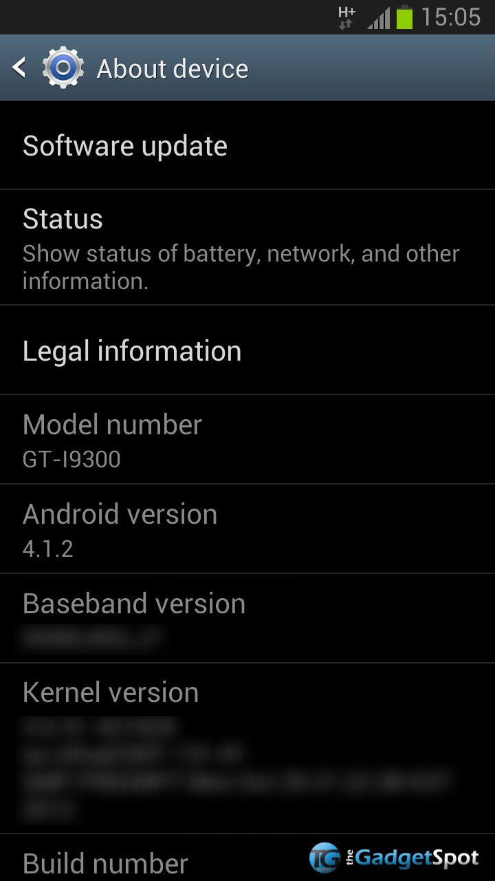 New Android Update on the Way to the Samsung Galaxy S (III)