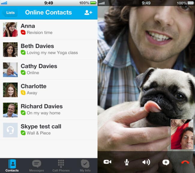 Skype updated to support 4-inch iPhone 5 display
