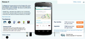 Check out the listing for a white Nexus 4 at the bottom left.