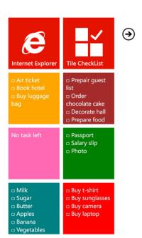 Tile-checklist
