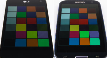 Although the Optimus G loses some brightness when tilted to its side, it does retain its very natural colors