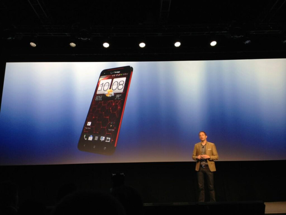 5-inch 1080p screen, quad-core Snapdragon S4 - yours for $200 on-contract - HTC Droid DNA for Verizon is announced