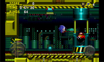 Sonic CD now available on Windows Phone