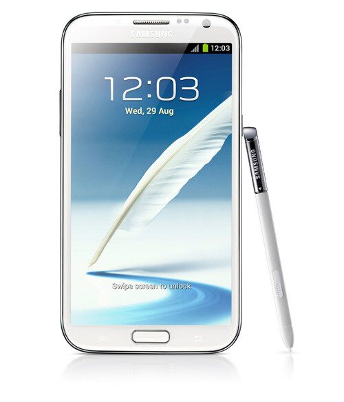 One of the phones available on the plan is the Samsung GALAXY Note II - Vodafone Red Hot allows customers to get a new phone every year