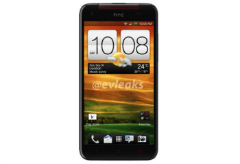 The overseas version of the HTC DROID DNA