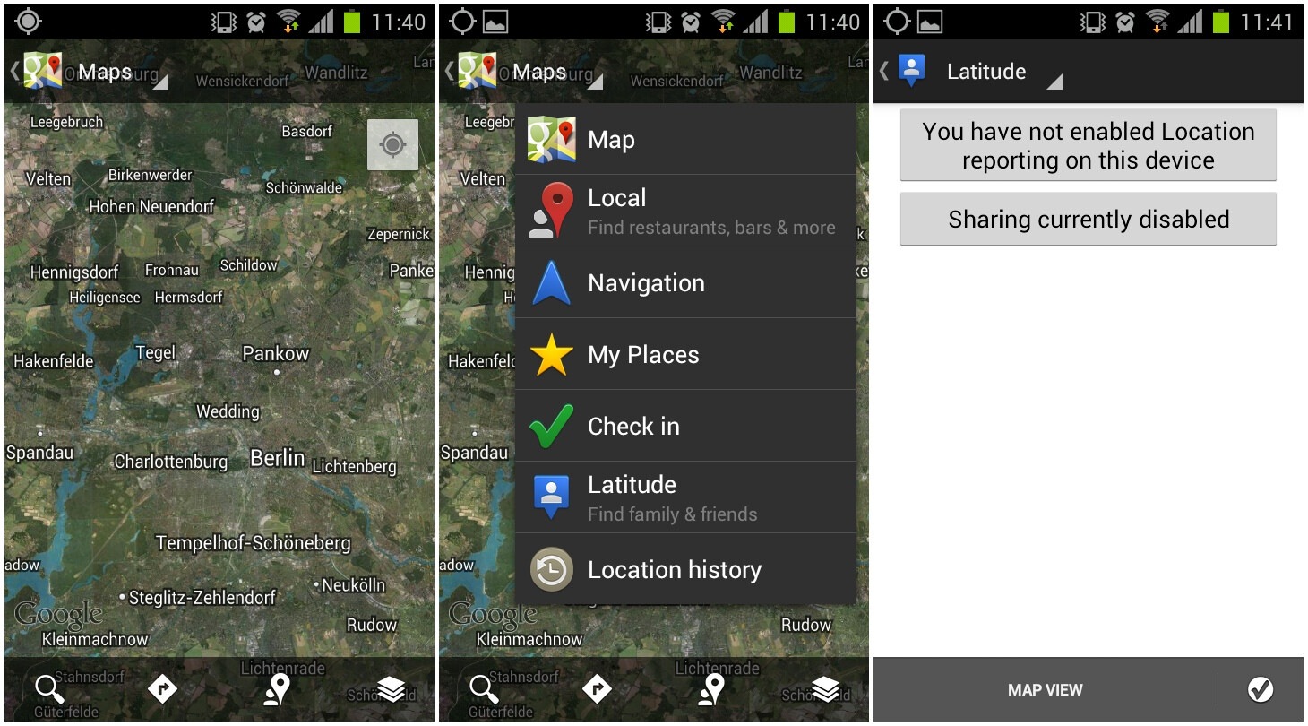 Android: How to share your location and GPS coordinates