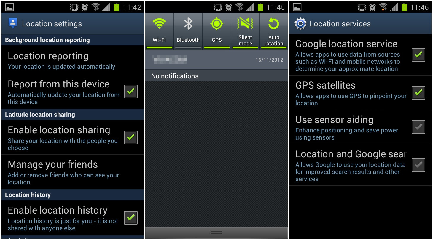 android how to your location and gps coordinates